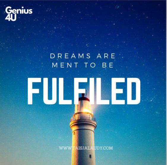 Marzenia są po to, żeby je spełniać