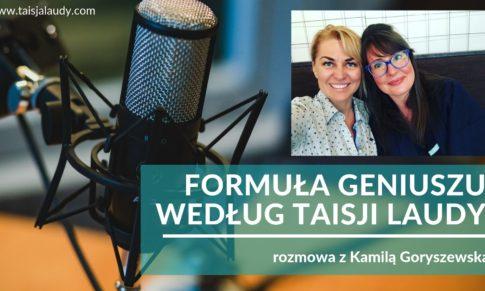 Formuła Geniuszu według Taisji Laudy – podcast Słucham Gadam